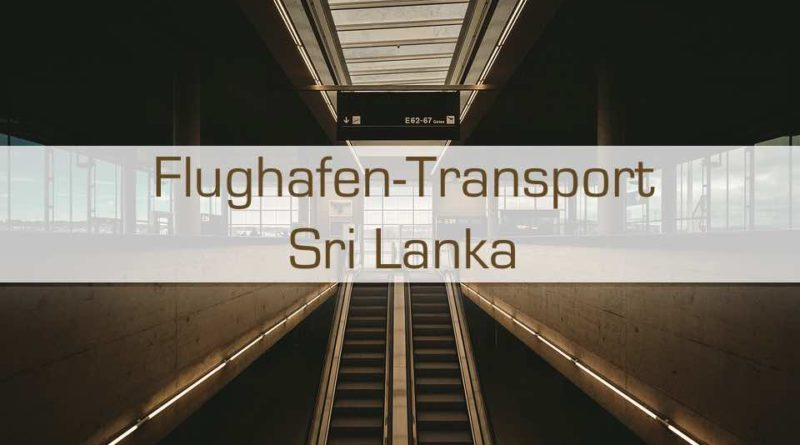Flughafentransport Sri Lanka