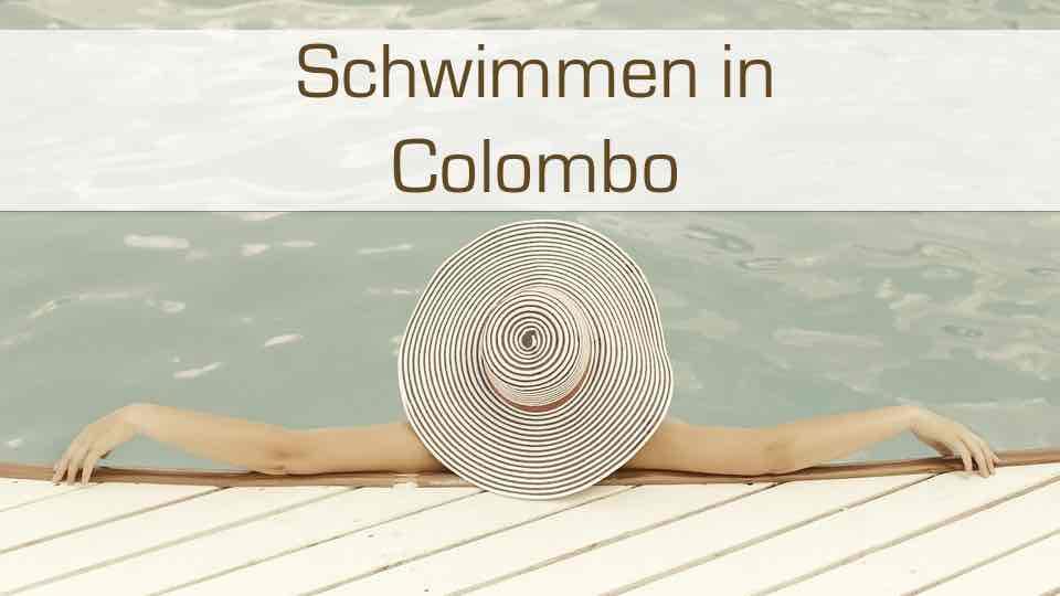 Schwimmenbäder und Pools in Colombo Sri Lanka.